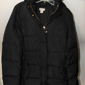 Gorgeous Soft JCrew Puffy Parka Coat size Medium